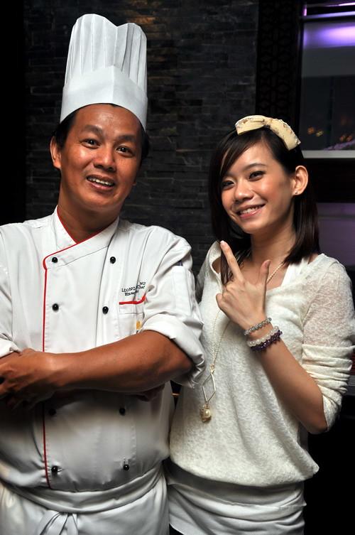 Chef Leong Weng Heng & NTV7 star
