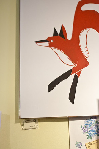 Foxy Print by Fledgling