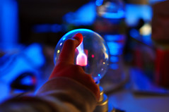plasma ball (hep) Tags: ball electricity plasma plasmaball