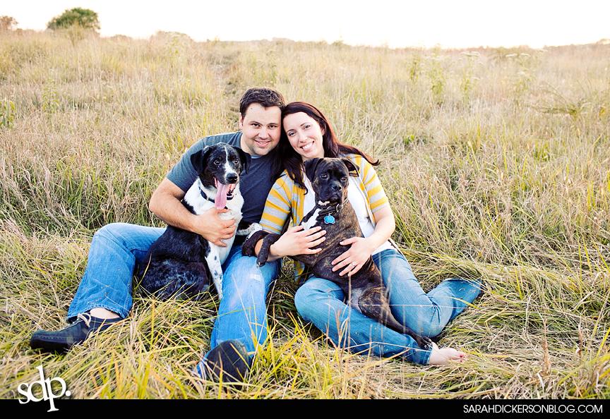 Shawnee Mission Park engagement session
