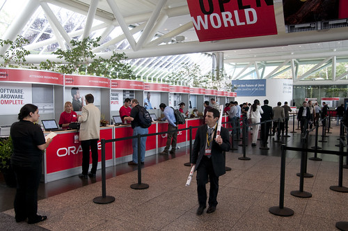 Oracle OpenWorld & JavaOne + Develop 2010, Moscone South