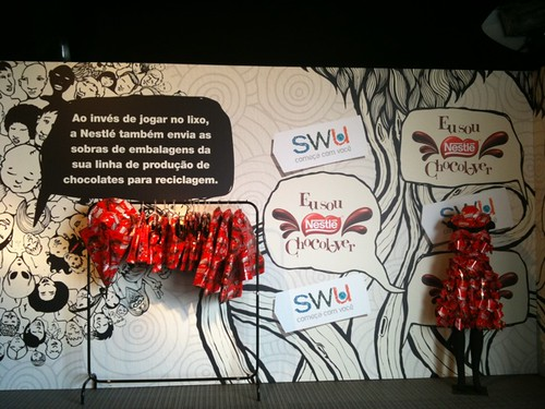 Na arena do Forum de Sustentabilidade, exemplos da Nestlé de reutilização de embalagens #SWU