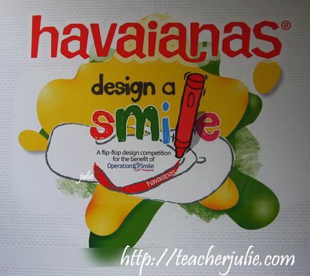 Havaianas Design a Smile
