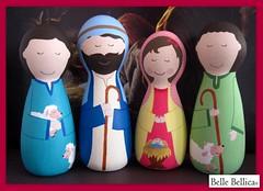 Presépio de Natal - Belle Bellica (Belle Bellica) Tags: