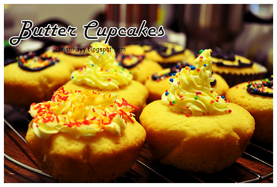 Pre-Birthday Preparation: Cynthia's Butter Cupcakes