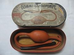 Antique German Clysopompe (Lombardarella) Tags: antique german douche enema clysopompe