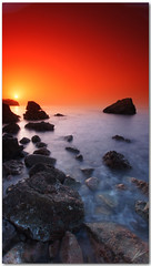 dreamtime (chris frick) Tags: sunset seascape rocks dusk sony explore 169 mallorca tobacco mediterraneansea cokinfilter dreamtime originalcolors explore36 8nd a550 chrisfrick daylightexposure 8gnd colorgradients sonyalpha550 caladaia
