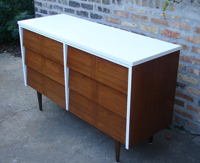 Chris and Brad - Repurposed Mid-Century Furniture