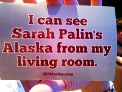 I Can See Sarah Palin's Alaska From My Living Room