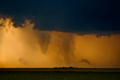The Death of a Tornado, and The Birth of Another (Matt Granz Photography) Tags: vortex storm oklahoma weather hail clouds nikon colorado wind wideangle campo f3 lightning plains twister tornado funnel panhandle chaser d90 boisecity cloudsstormssunsetssunrises centralplainssevere