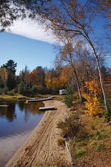 Autumn Colours (sr667) Tags: autumn ontario canada water canon sigma autumncolours autumncolors dwight 18250mmf3563dcos