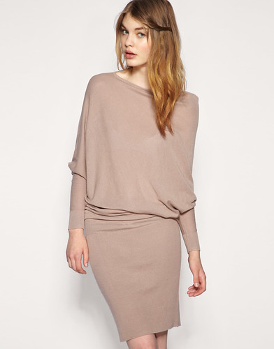 FF_ASOS Slash Neck Knitted Dress