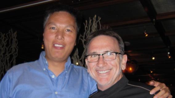 With Chef Rick Moonen