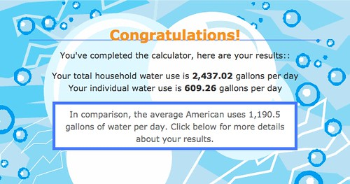 Water Calculater
