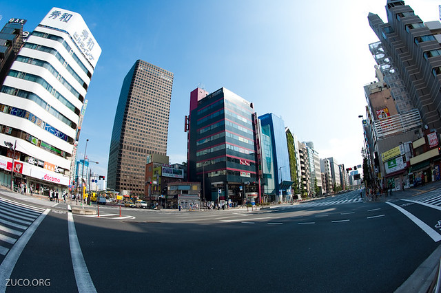 Near Shiodome