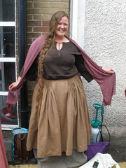 My second Camelot extra costume, but now with a different apron