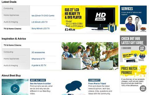 Best Buy homepage2