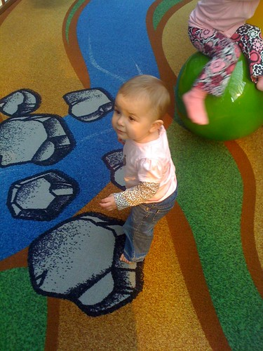 lucy walking at mall 3