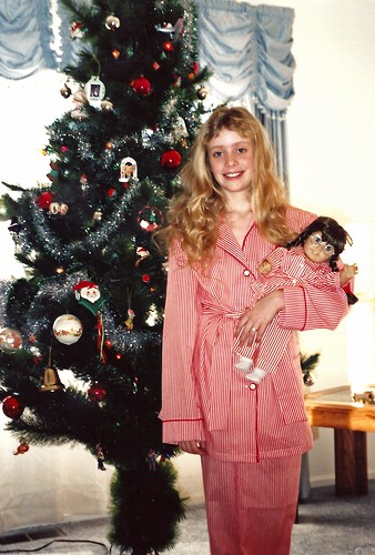 Molly Christmas 1989