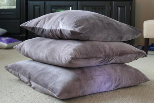 Pillow Week: 15 minute Floor Pillows -