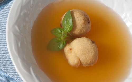 tomato broth with ricotta fritters2