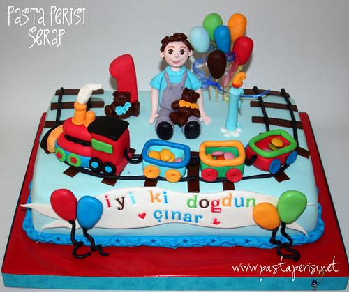 1ST BIRTHDAY CAKE -CINAR