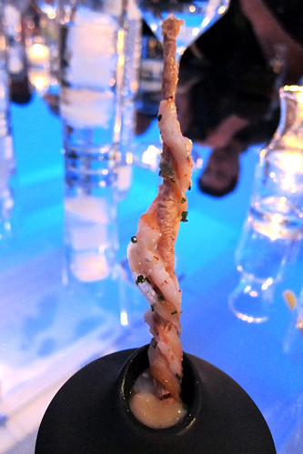 Alinea West: Course 3 - Yuba & Shrimp Stick