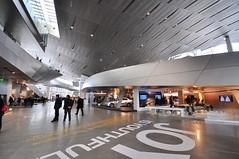 Inside BMW Welt (Paul Raptis) Tags: museum architecture germany munich deutschland nikon sigma bmw munchen 1020mm welt d90