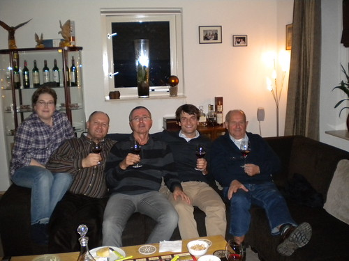 Dinner and Port tasting at Gerwin's home