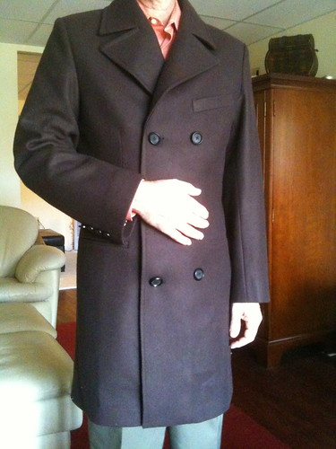custom winter coat