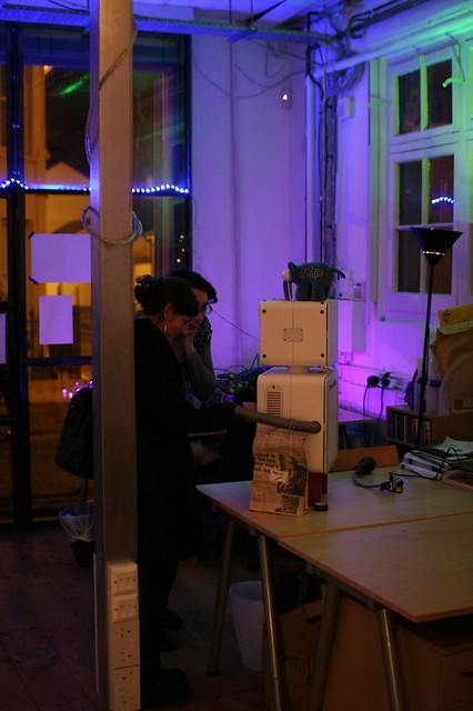 BuildBrighton White Night Workshop - Donating