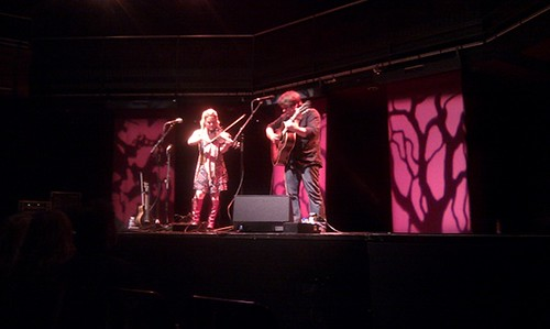 Sara and Sean Watkins at the Sage Gateshead 14-Nov-2010