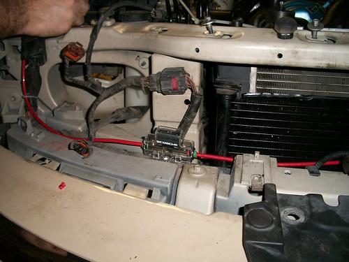 a guide to electric fan retrofit swap lincoln vs cadillac forums routed through existing harness