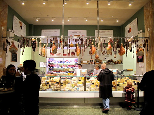 Salumi Counter at Eataly