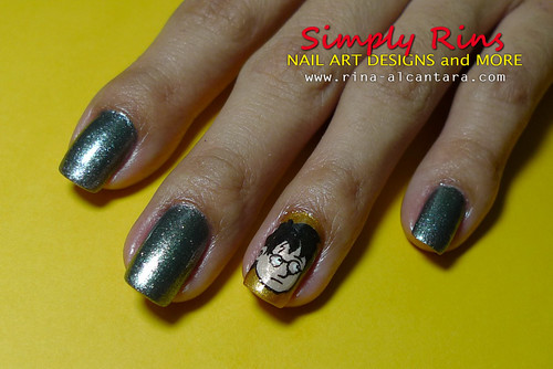 Nail Art Harry Potter 03