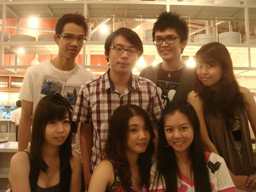 Richard Teo,Jayren,Jun Fook,Nana,Chee Li Kee,Jia Yee and Shannon Chow
