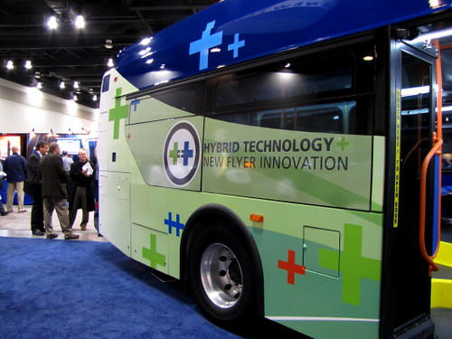 Trans-Expo 2010 Shows Hybrid Diesel-Electric, GPS, Wi-Fi, Solar-Power & H.264 Technologies in Public Transit Buses