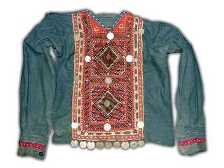 ბავშვის ძველი ხევსურული პერანგი,ხევსურეთი,ხევსურული