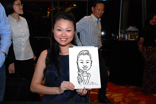 caricature live sketching for 2010 Asia Pacific Tax Symposium and Transfer Pricing Forum (Ernst & Young) - 20