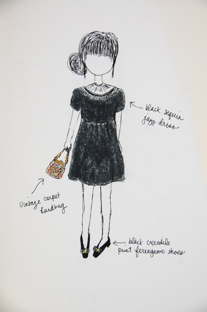 in my sketchbook