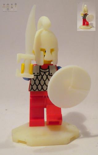 Spartan custom minifig