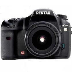 Câmera Digital Pentax Digital K20D 14.6 Megapixels c/ Lente 18-55mm