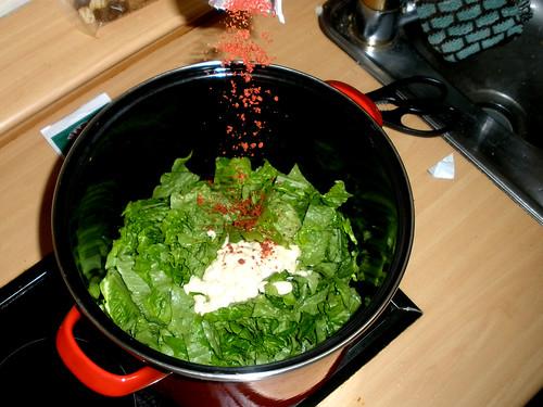 Freshly Cooked Salad