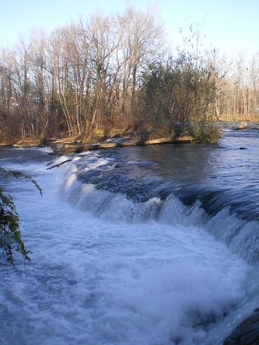 Upstream of the American Falls