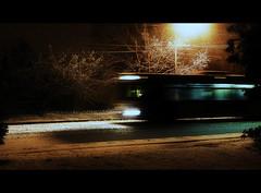 Winter Wonderland (Clayton Perry Photoworks) Tags: street winter snow bus vancouver richmond
