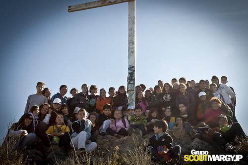 Senda del Gavilan a Cruz de Miravete 21-Nov-2010