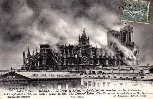 Cathedrale Reims Detruite Http://www.cathedrale-reims