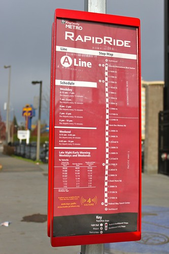 RapidRide Schedule & Map
