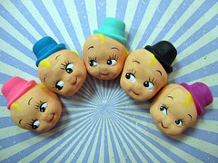 Lion Master Cupie Heads! 4