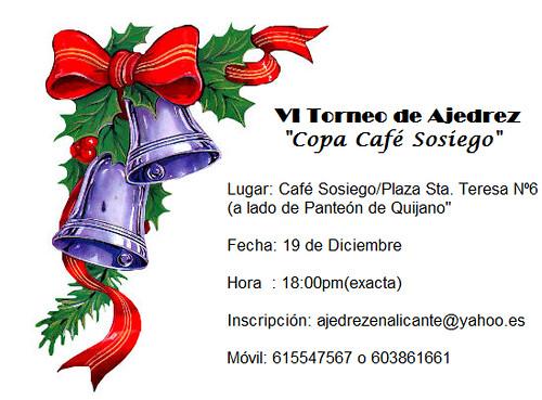 VI Copa Café Sosiego